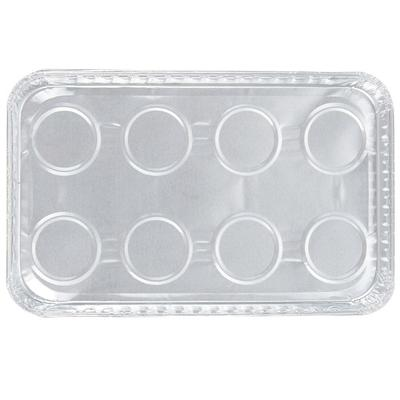 Durable Packaging 3300-40 Foil Danish Pan - 250/Case