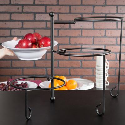 American Metalcraft TTRS3 Ironworks Three-Tier Foldable R...