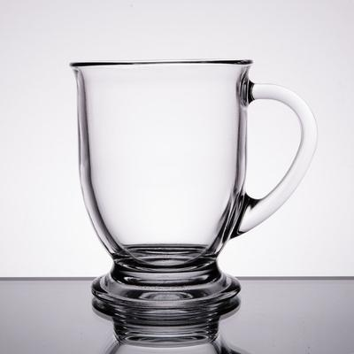 Anchor Hocking 83045A Customizable 16 oz. Glass Cafe Mug ...