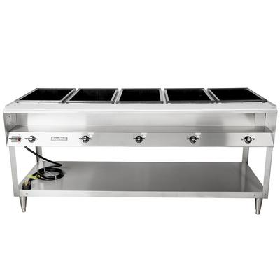 Vollrath ServeWell Electric Five Pan Hot Food Table V - Electric hot food table