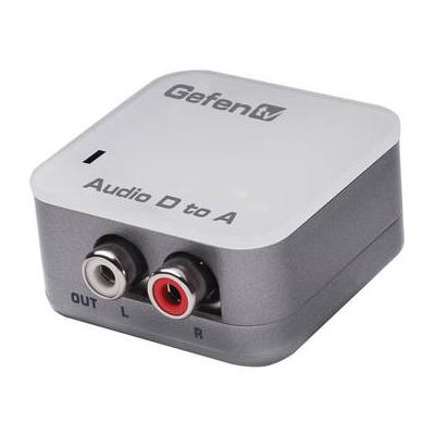 Gefen EXT-DDIGAUD-2-AAUD GefenTV Digital Audio to Analog ...