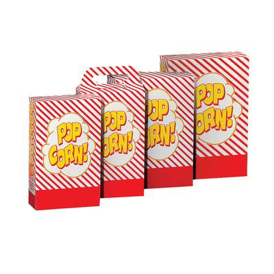 Gold Medal 2064 2.3 to 2.8-oz Disposable Popcorn Boxes, 2...