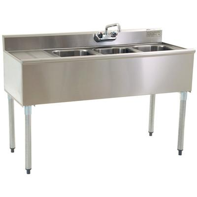 Left Drainboard Eagle Group B4 3 Compartment Under Bar Si...