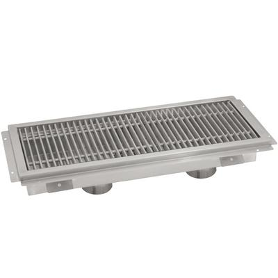 "Advance Tabco FTG-1896 18"" x 96"" Floor Trough with Stainl..."