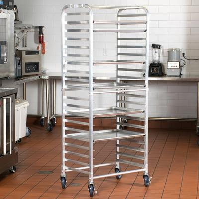 Regency 20 Pan Side Load Bun / Sheet Pan Rack - Assembled