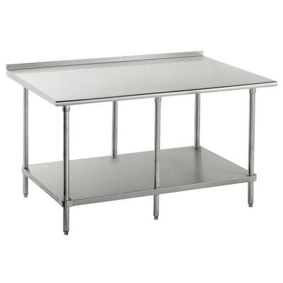 X Stainless Steel Work Table Compare Prices At Nextag - 16 gauge stainless steel work table