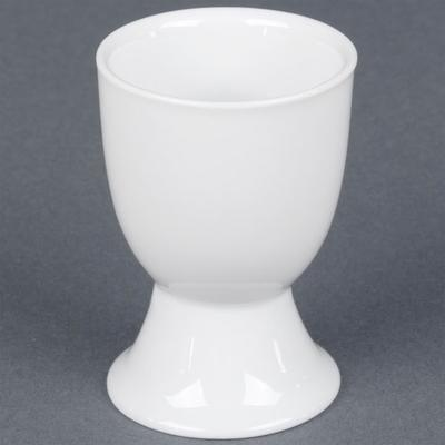 C.A.C CAC EGC-3 White China Egg Cup 1.5 oz. - 48/Case