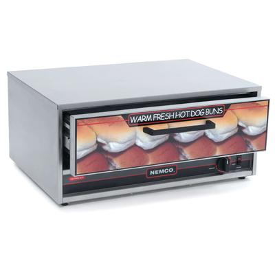 Nemco 8075-BW-220 Moist Heat Bun Food Warmer w/ 64-bun Ca...