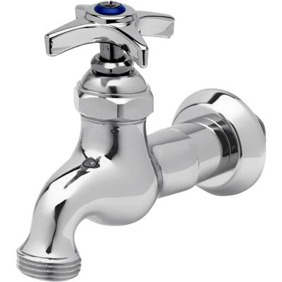 "T&S B-0718 Single Sink Faucet with 1/2"" NPT Male Inlet, 4..."