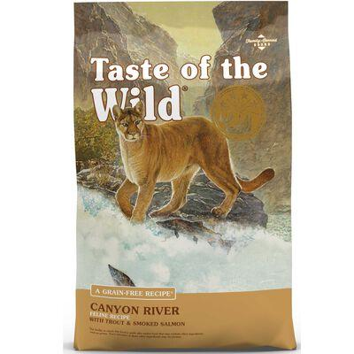 Taste Of The Wild Dry Cat Food Canyon River Feline Formula w/ Trout & Smoked Salmon 15 lb by 1-800-PetMeds