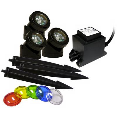 Alpine Power Beam Halogen - Landscape or Pond 3-Light Kit
