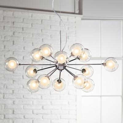 Possini Collection Glass Sphere 15-Light Pendant Chandelier