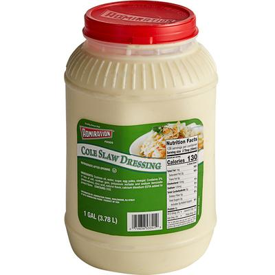 Admiration Cole Slaw Dressing 1 Gallon - 4/Case