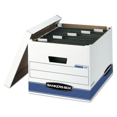 BANKERS BOX Hang 'N' Stor Storage Box, Legal/Letter, 12-1...