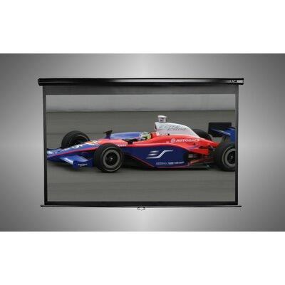 "Elite Screens Manual Series White 100"" diagonal Manual Pr..."