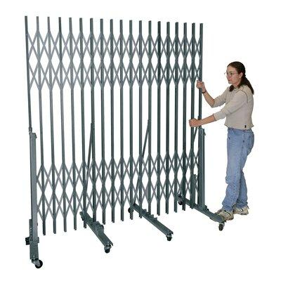 Hallowell P601-06 Superior Portable Gate For corridor widths 3 ft. -6 in. - 6 ft. -0 in. 736 Sport Silver