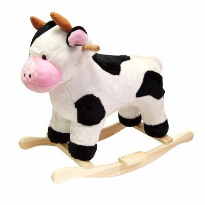Happy Trails Cow Plush Rocking Animal 80-16COW