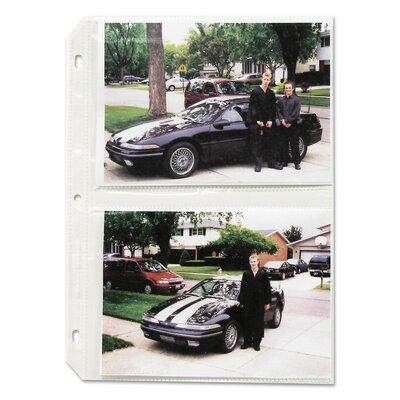 C-LINE PRODUCTS, INC Clear Photo Pages for Four 5X7 Photo...