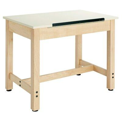 "Shain DT - XXXX Quick Ship: Art Table with Adjustable Top Height: 30"" H, Top: One Peice Adjustable"