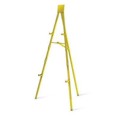 Testrite 6 ft. Facility Easel Gold - 9006G