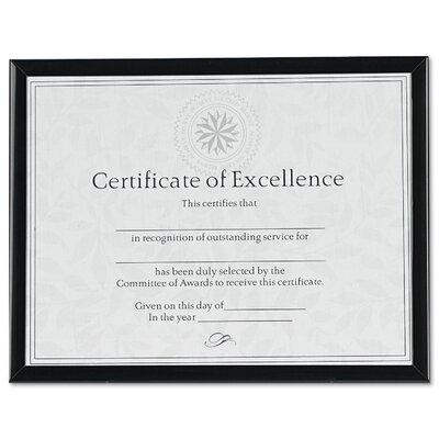 DAX MANUFACTURING INC. Value U-Channel Document Frame wit...