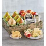 Deluxe Pears, Apples, and Cheese Gift - Gift Baskets & Fruit Baskets - Harry and David
