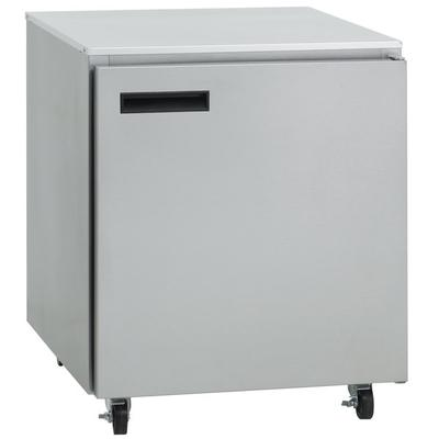 "Delfield 407-CA 27"" Undercounter Freezer with Casters - 5..."