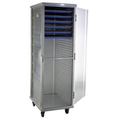 Carter-Hoffmann E8639H 3/4 Height Non-Insulated Mobile Heated Cabinet w/ (26) Pan Capacity, 120v