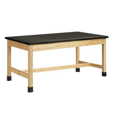 "Diversified Ceramics Plain Apron Science Table With Epoxy Resin Top P7 Size: 30"" H x 54"" W x 24"" D"