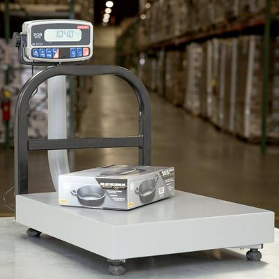 Tor Rey EQB-50/100 100 lb. Digital Receiving Bench Scale,...