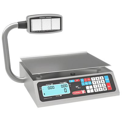 Tor Rey PC-80LT 80 lb. Digital Price Computing Scale with...