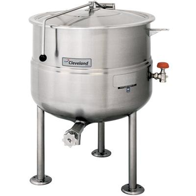 Cleveland KDL-40 40 Gallon Stationary 2/3 Steam Jacketed ...