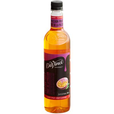Da Vinci Systems Gourmet 750 mL Passion Fruit Classic Cof...