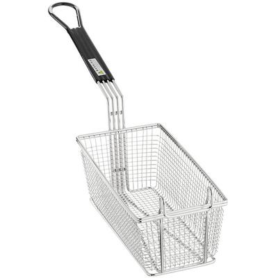 "11"" x 5 1/2"" x 4"" Replacement Fryer Basket for Deep Fryers"