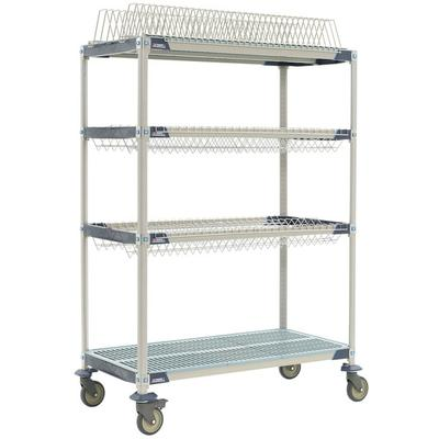 "Metro PR48VX3 MetroMax i Mobile Drying Rack - 24"" x 48"" x..."