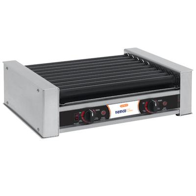 Nemco 8027SX Hot Dog Roller Grill with GripsIt Non-Stick ...
