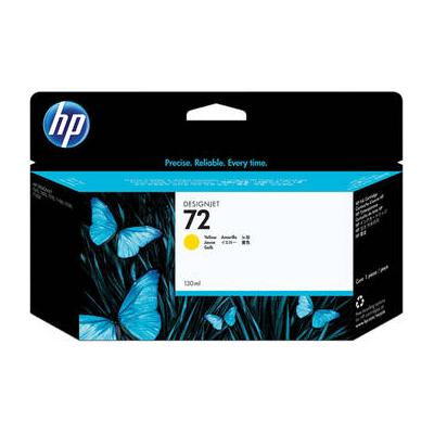 HP NO 72 Genuine 130ML-YLW INK Cart (C9373A)