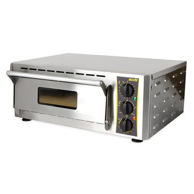 Equipex PZ-431S Countertop Pizza Oven - Single Deck, 208-...