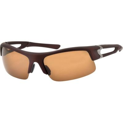 Zenni Mens Sporty Sunglasses Brown Frame Other Plastic A10184315