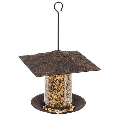 Whitehall Products Cardinal Tube Bird Feeder 30404 Finish...
