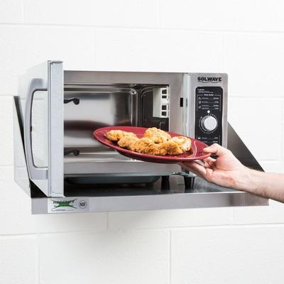 Solwave Stainless Steel Commercial Microwave with Dial Co...