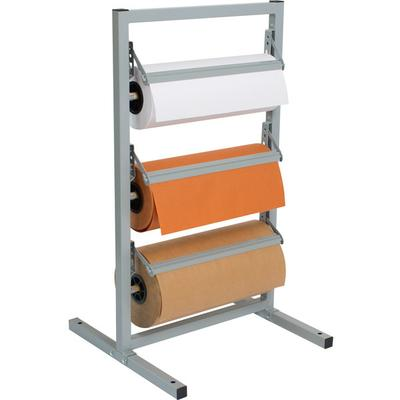 "Bulman T368R-15 15"" Three Deck Tower Paper Rack with Stra..."