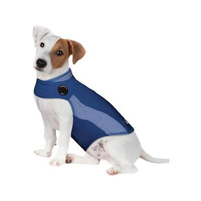 ThunderShirt Anxiety & Calming Aid for Dogs, Blue Polo, XX-Small