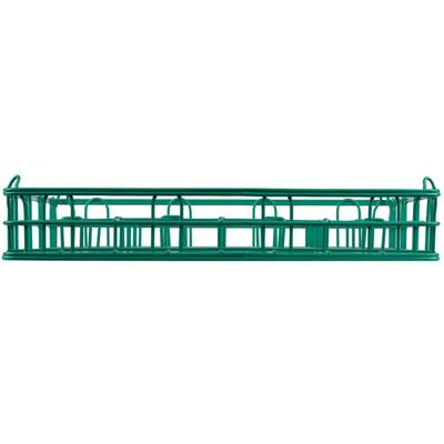 "16 Compartment Catering Glassware Basket - 4 1/2"" x 4 1/2..."