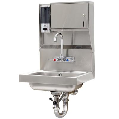 Advance Tabco 7-PS-80 Hand Sink With Towel And Soap Dispe...