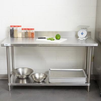 "Regency 24"" x 60"" 16-Gauge Stainless Steel Commercial Wor..."