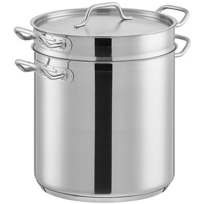 Update International 20 Qt Stainless Steel Clad Double Bo...