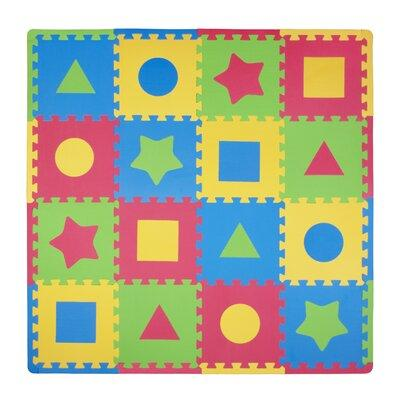Tadpoles 16 Piece Tadpoles First Shapes Playmat Set TI219...