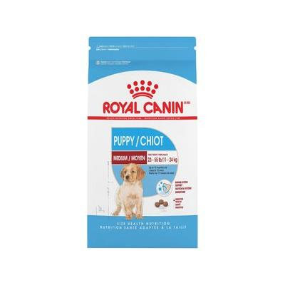 Royal Canin Medium Puppy Dry Dog Food, 6-lb bag