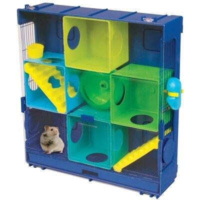Ware Manufacturing Ware Critter Universe Wall Hamster Cage (Blue)